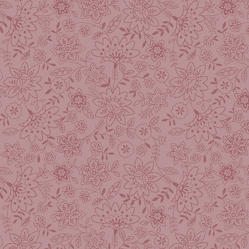 Básico jardim delicado rosa