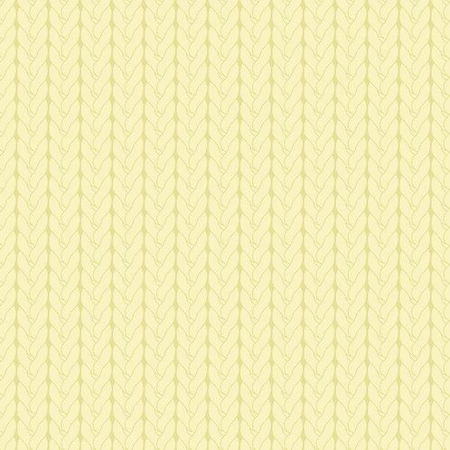 Tricô básico amarelinho