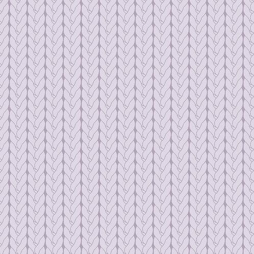 Tricô básico lilás