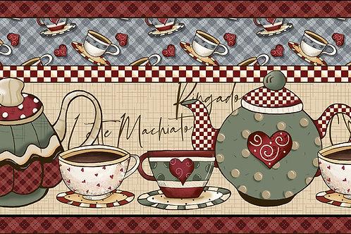 Faixas hora do café