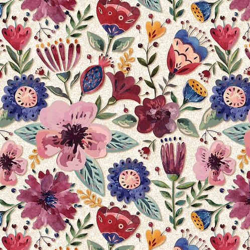 Floral Elegance Claro