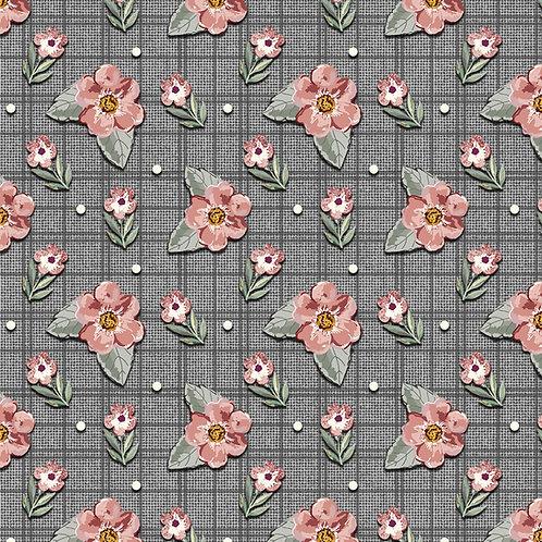 Mini floral sweet grafite