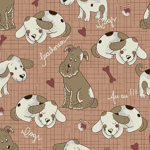 Cachorrinhos Fundo terra