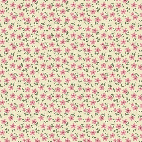 Micro Floral Garden Creme