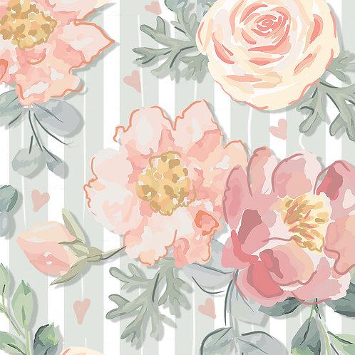 Floral Veneza Menta