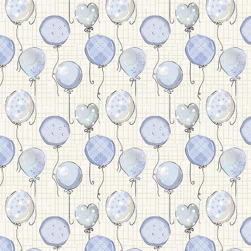 Balões baby azul