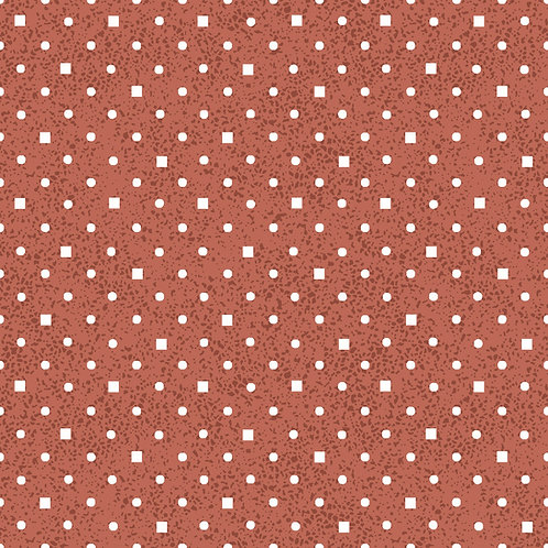 Poá e quadradinhos vermelho