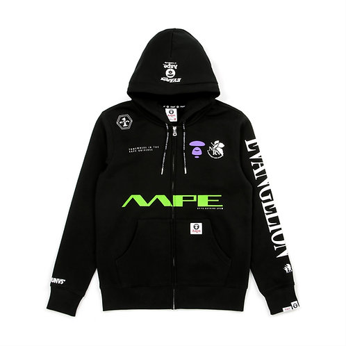 AAPE x Evaracing Zip Up Sweater