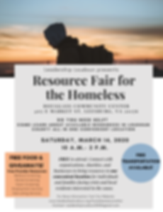 Leadership Loudoun Homeless Resource Fai
