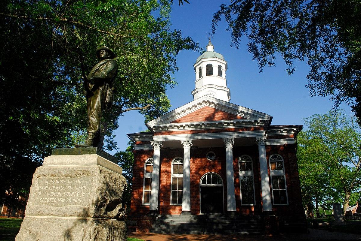 Loudoun County Courthouse-Leesburg,Virgi