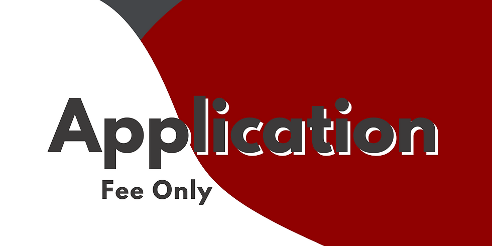 Application Fee Only