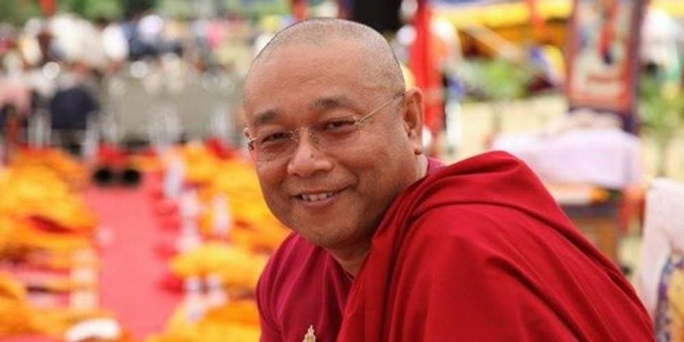 Conférence avec Jigme Khyentse Rinpoche