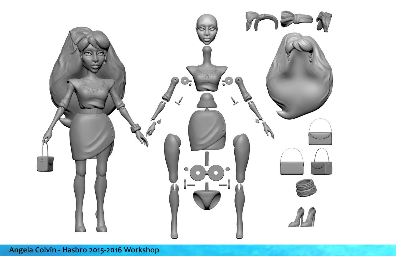 Hasbro Workshop Character Model