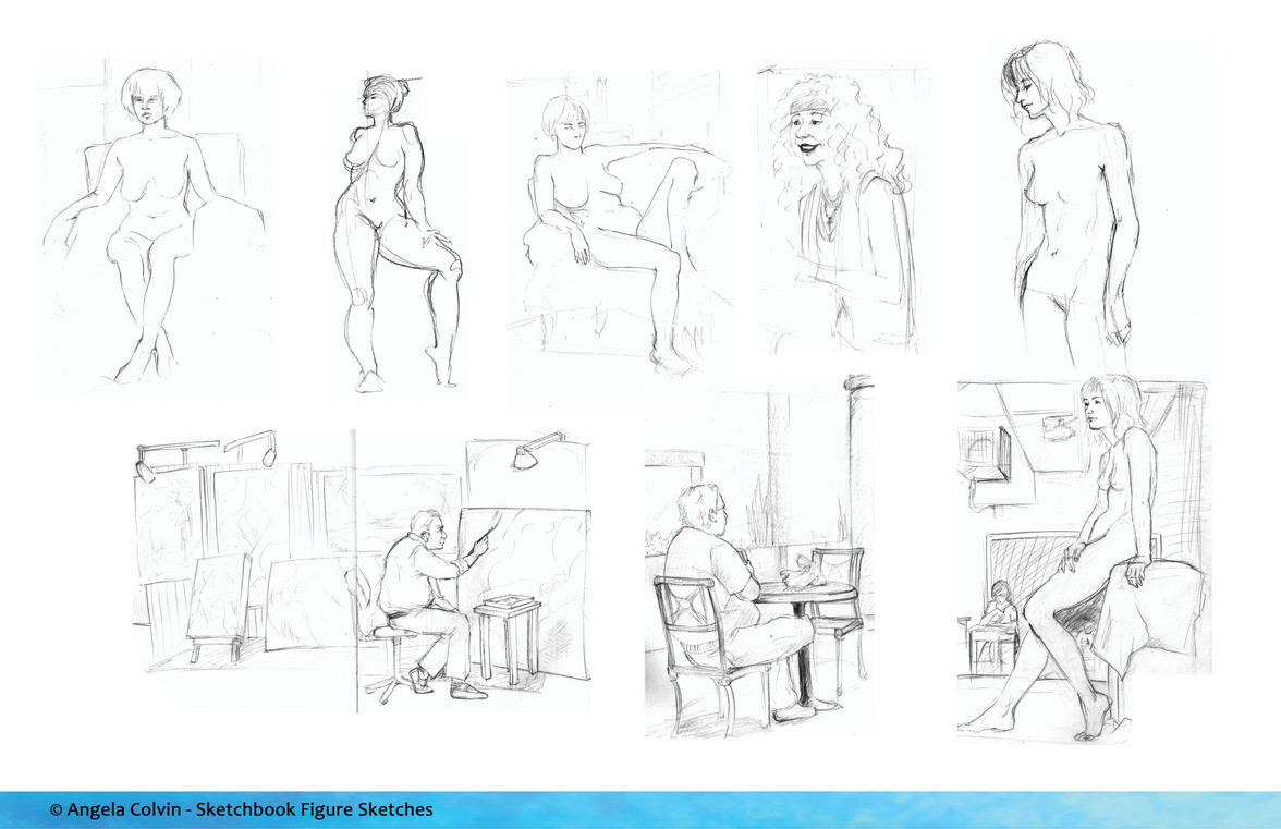 Sketchbook/Figure Studies