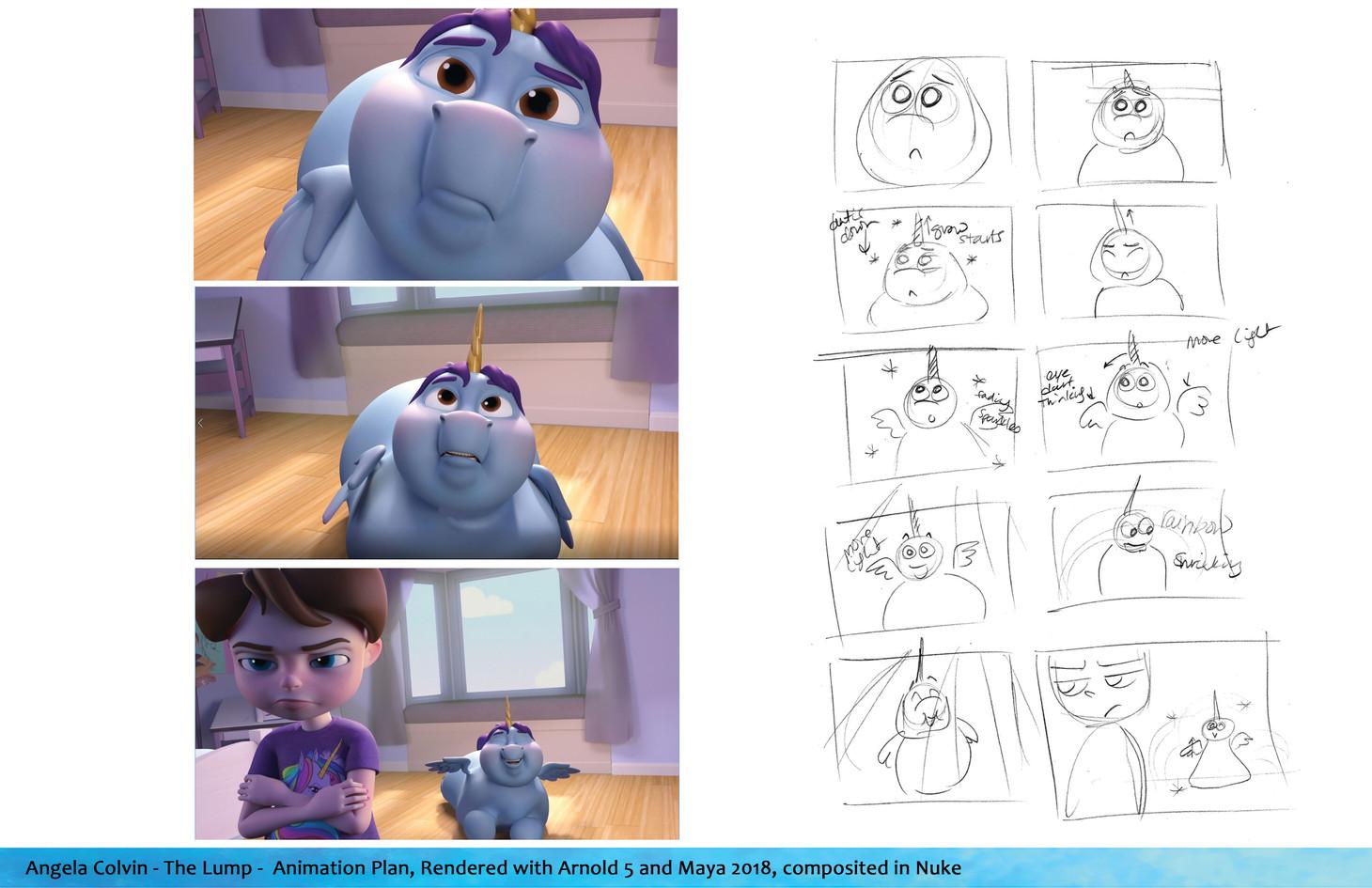 """The Lump"" Animation Plan"