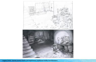 Environmenet Design:Author Loft