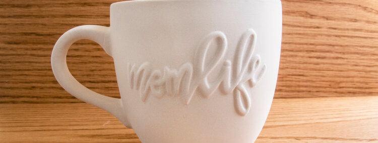 Mom Life Tea Cup