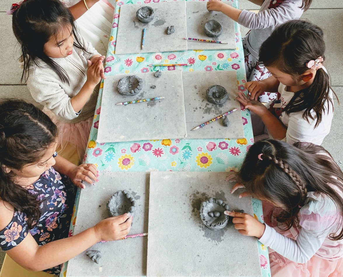 Clay & MM Art: Preschool Session 1 (Aug)