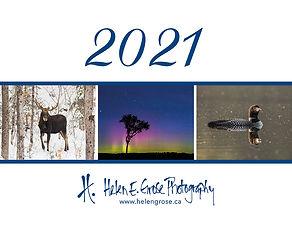 Calendar Cover 2021 - Copyright Helen E.