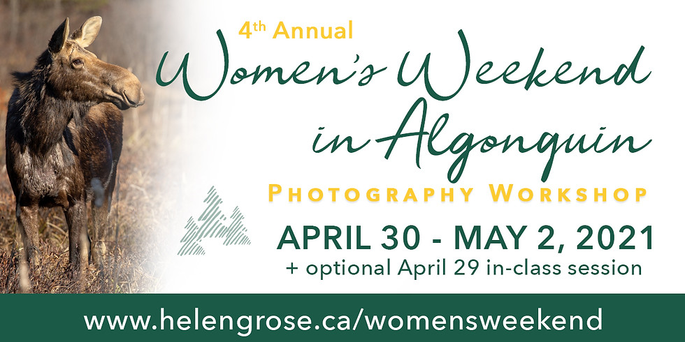 4th Annual Women's Weekend in Algonquin