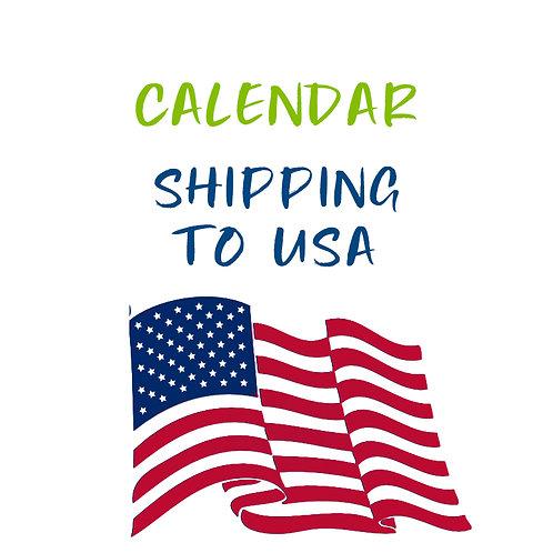 Calendar Shipping to USA