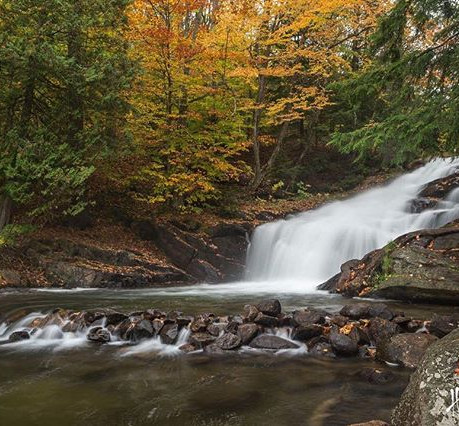 Muskoka Waterfalls   Helen E. Grose