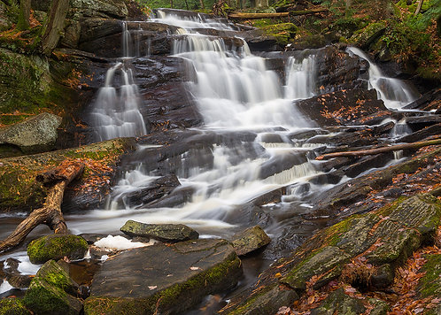Potts Falls Greeting Card