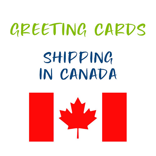 Greeting Card Shipping in Canada