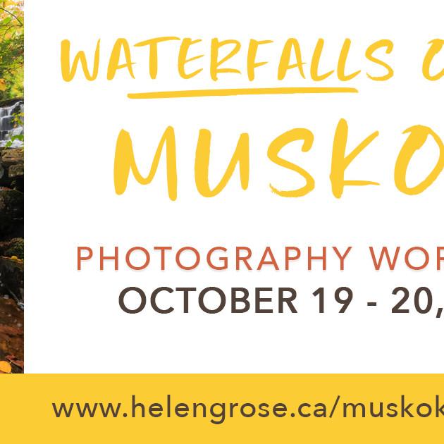 Waterfalls of Muskoka Photography Workshop