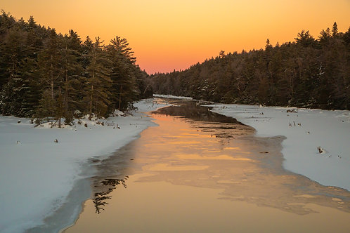 Sundown on Smoke Creek