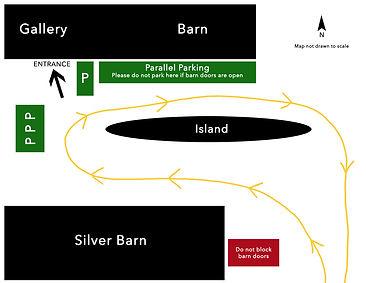 Muskoka Gallery Parking Map