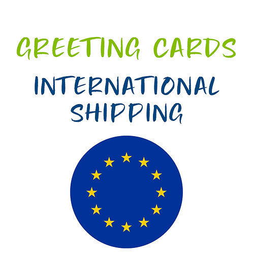 Greeting Card Shipping International