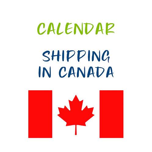 Calendar Shipping in Canada
