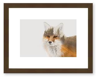 Espresso frame for prints