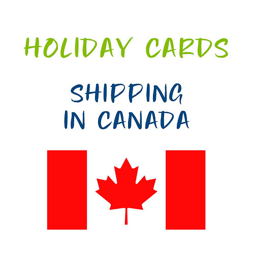 Holiday Card Shipping in Canada