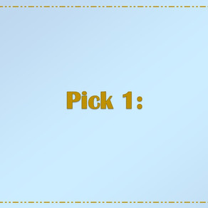 New Series: Pick 1