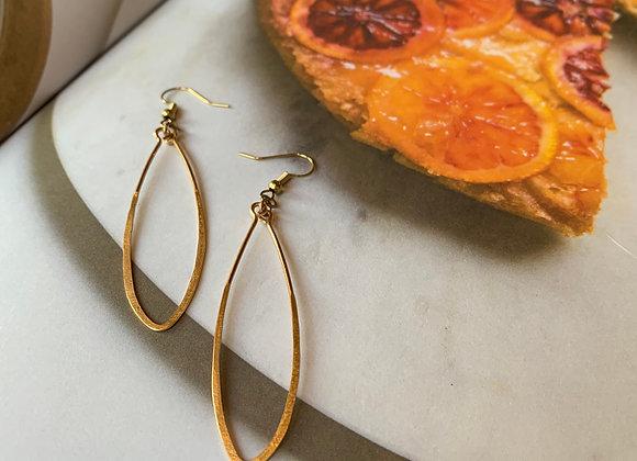 Leaf Wire Earrings