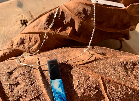 Midnight Soldier Stone Necklace