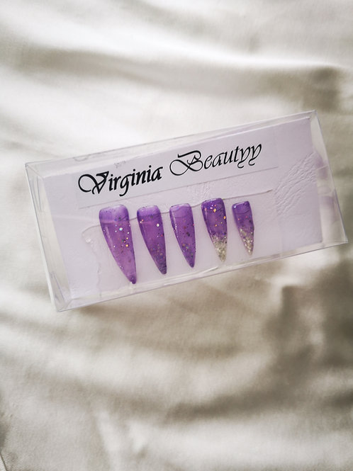 Jelly violet dégradé