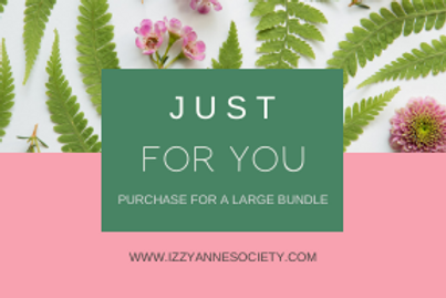 Just For You - Large Bundle