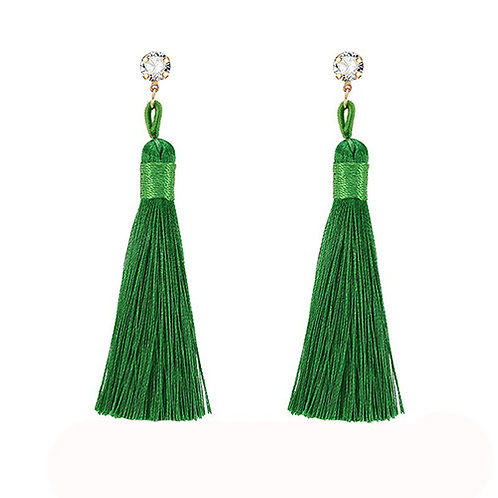 Posh Green Tassel