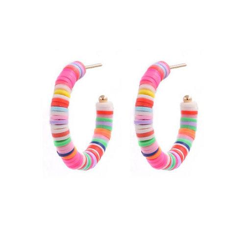 Rubber Slices Rainbow Hoop