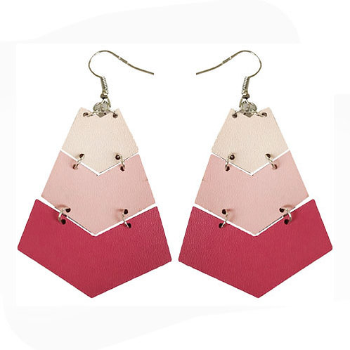 Leather Ombre Arrows Pinks