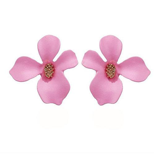Flower Studs Pink