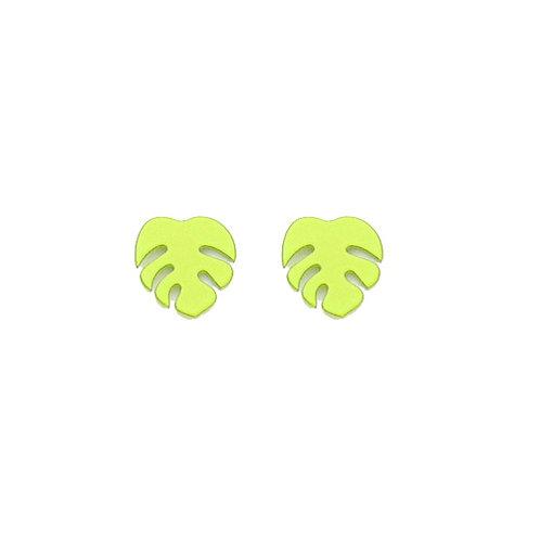 Monsteria Leaf Studs