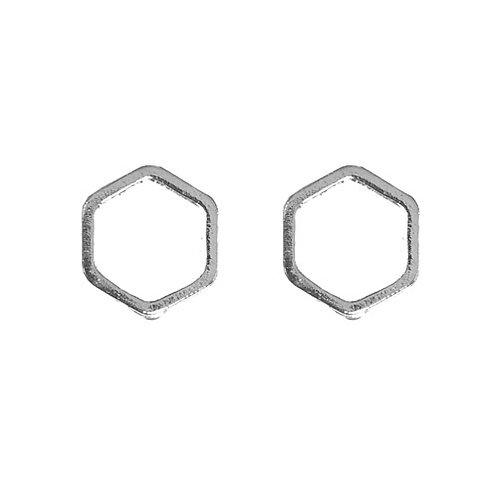 Silver Hexagon