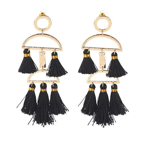 Tassel Chime Black