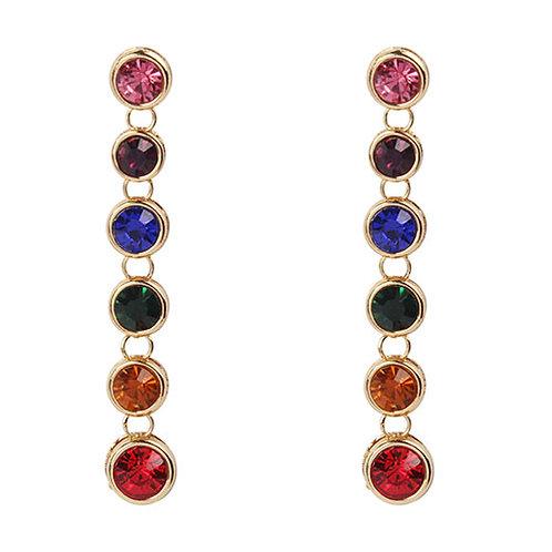 Jewel Tone Rainbow Drop