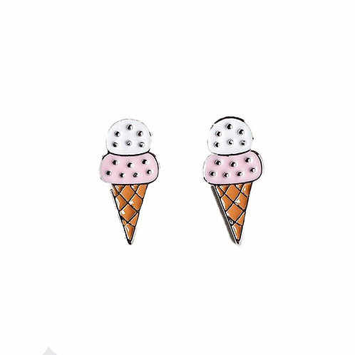 Icecream Studs Pink