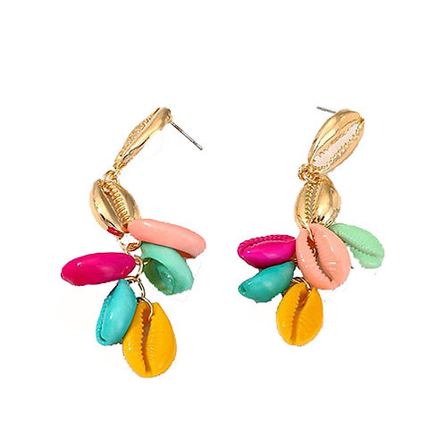Dangle Multicolor Shells